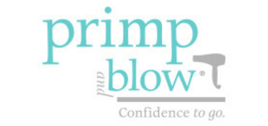 Primp And Blow Logo