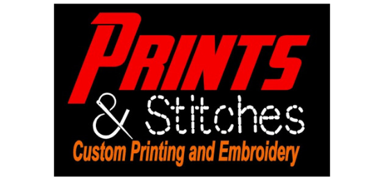 Prints & Stitches                        Logo