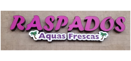 Eat Fresh Mexican Food Raspados          Logo