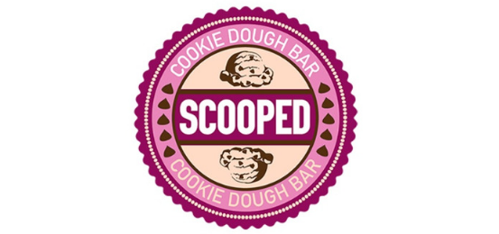 Scooped Cookie Dough Bar                 Logo