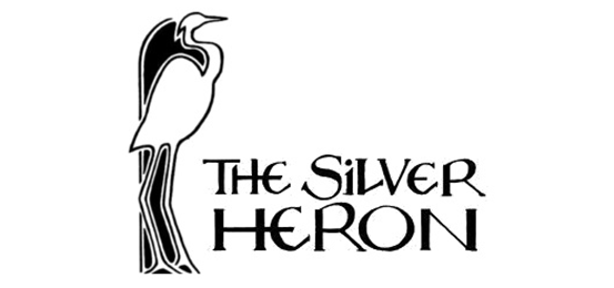 The Silver Heron                         Logo