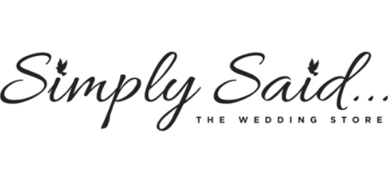 Simply Said...The Wedding Store Logo
