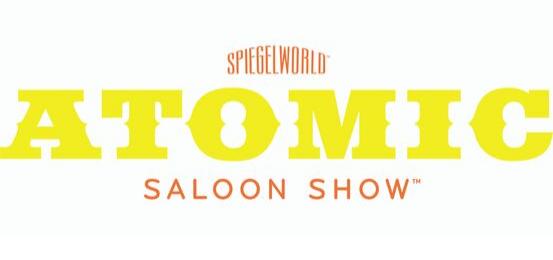 Spiegelworld Atomic Saloon Show Logo