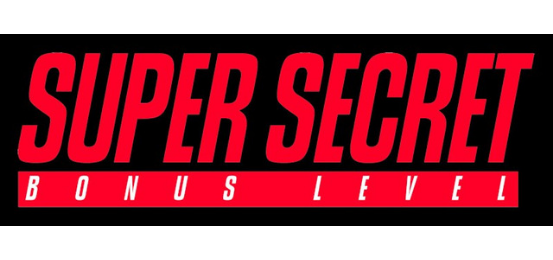 Super Secret Bonus Level Logo