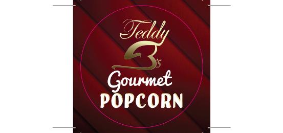 Teddy B's Popcorn Logo