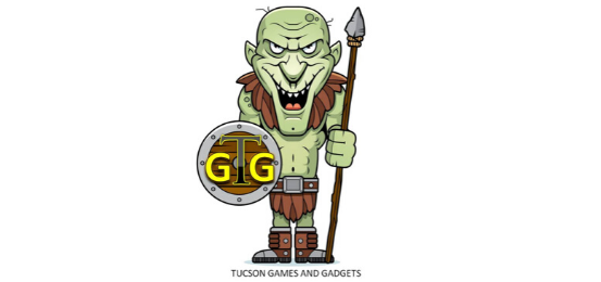 Tucson Games And Gadgets Logo