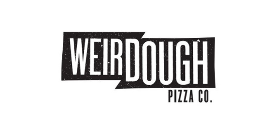 WEIRDOUGH PIZZA CO. Logo