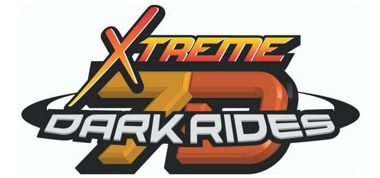 익스트림 7D 다크 라이드 (Xtreme 7D Dark Rides) Logo