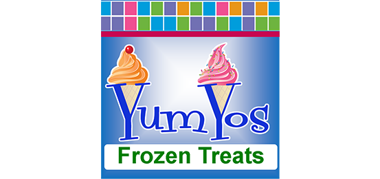 Yum Yo's Help Yo Self Frozen Yogurt Logo